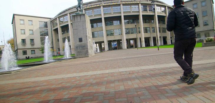 Plaza de los Tribunales de Concepcion | Alejandro Zoñez | Agencia UNO