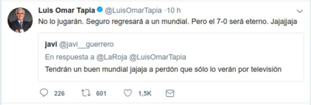 Captura Luis Omar Tapia | Twitter