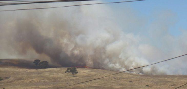 Incendio en San Antonio | @SanAntonio_SOS