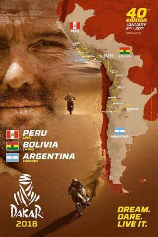 Extraída del sitio oficial del Dakar 2018