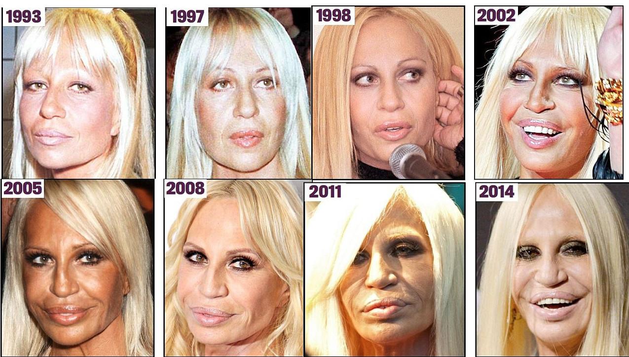 Donatella Versace | Daily Mail