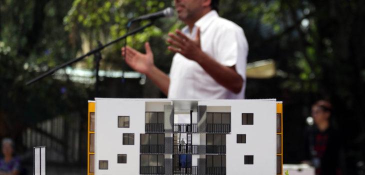 Jadue e inmobiliaria popular pretende atender a una for Inmobiliaria popular