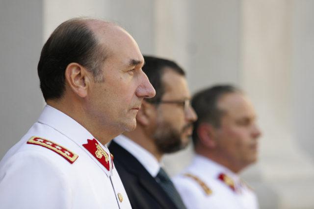 Juan Miguel Fuente-Alba, excomandante en Jefe del Ejército