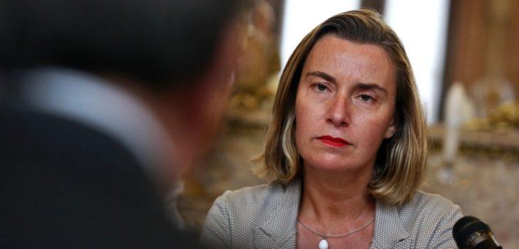 ARCHIVO   Agence France-PresseMogherini