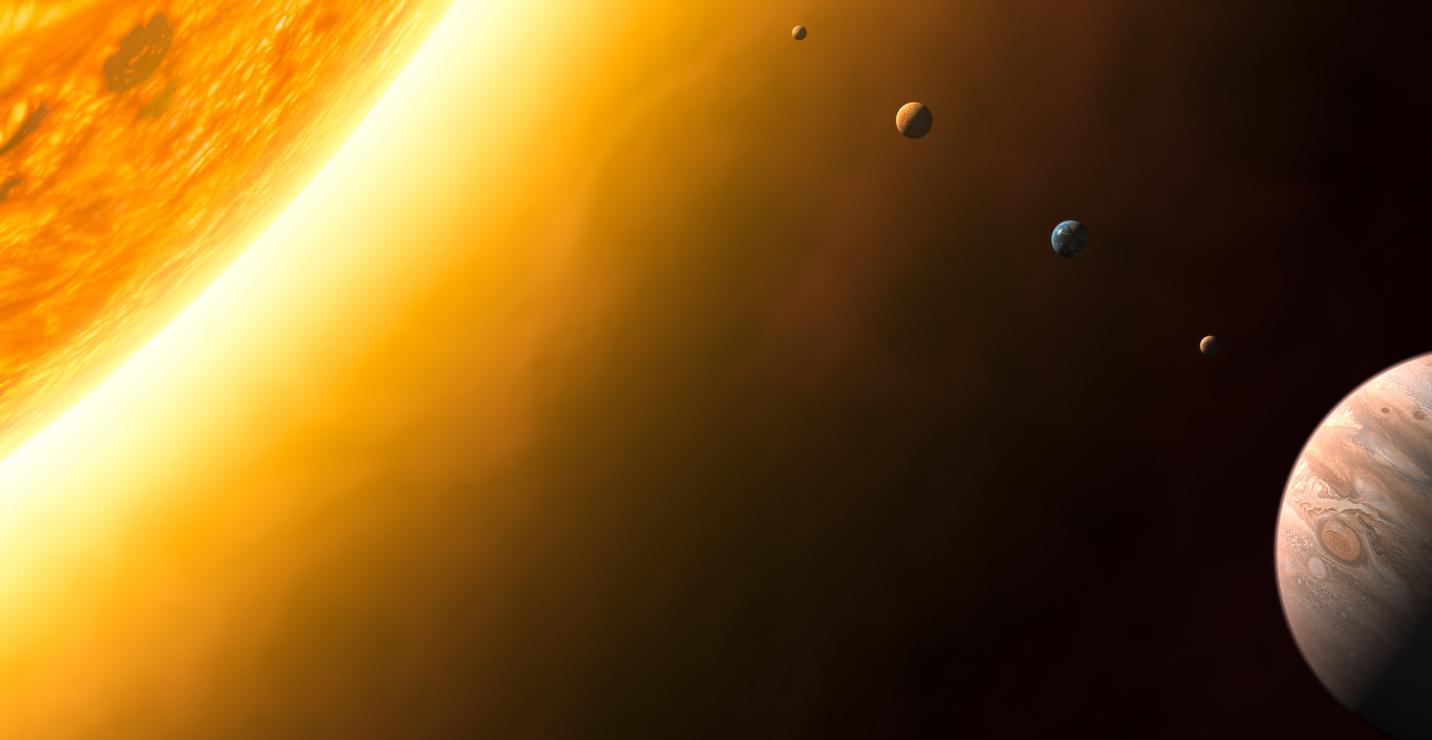 Representación del Sistema Solar | Andrew Caw (CC) Flickr