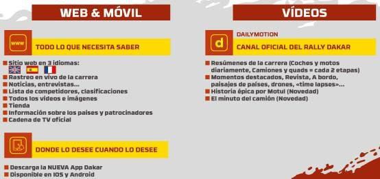 Extraída de comunicado oficial del Rally Dakar 2018