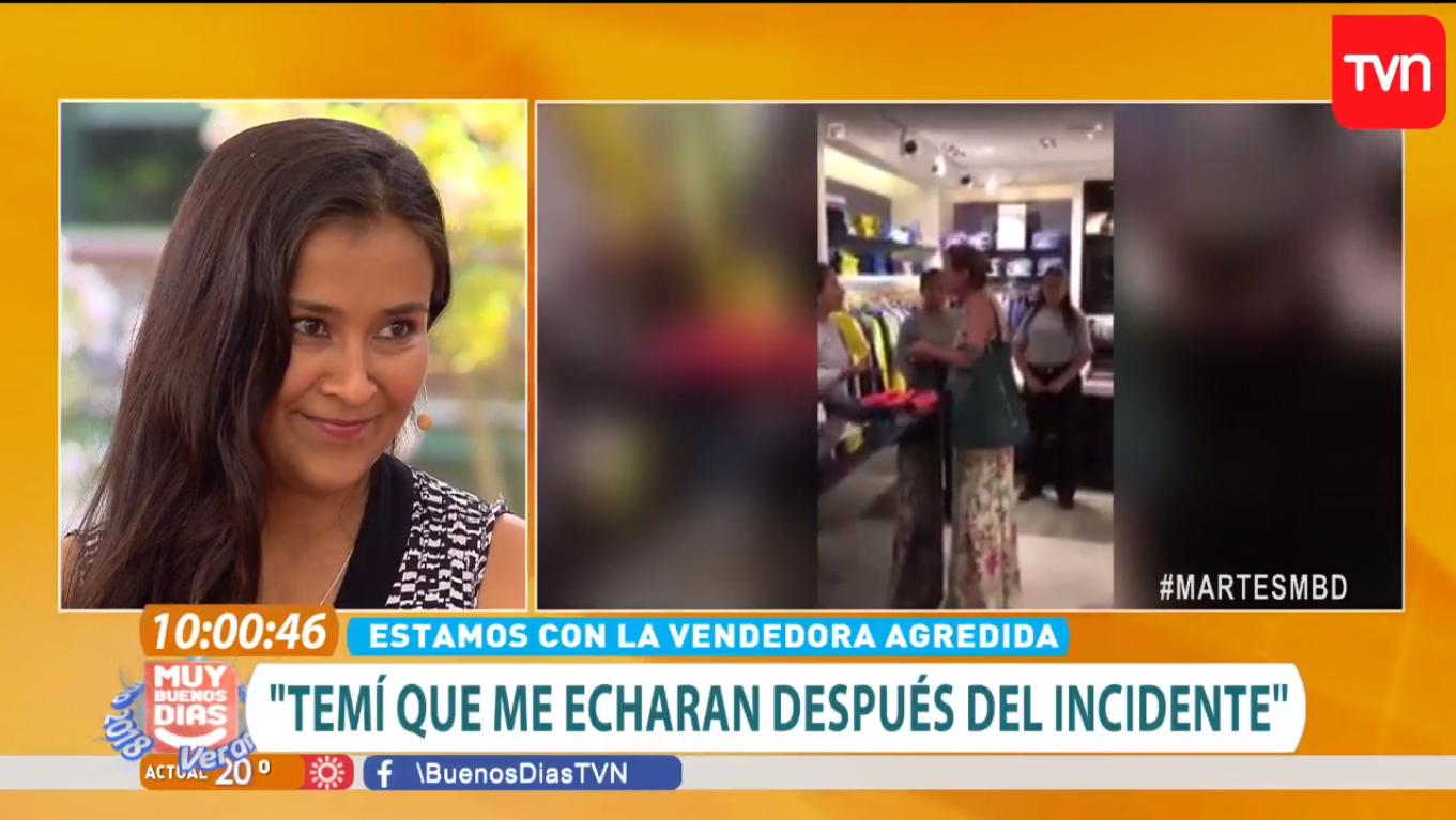 Fue insultada por clienta en Las Condes y la tienda la respaldó de la mejor manera: el video que hizo llorar de emoción a vendedora