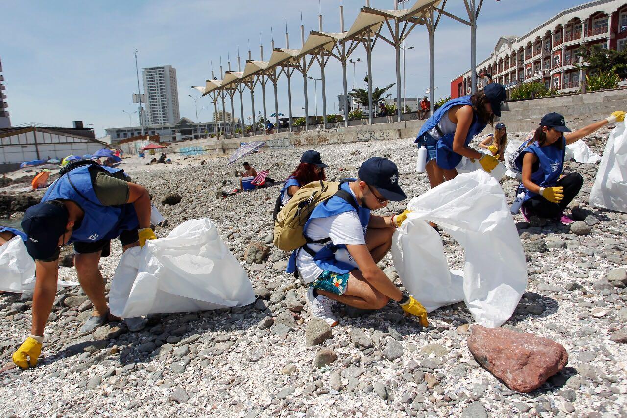 Voluntarios Por El Océano en Iquique