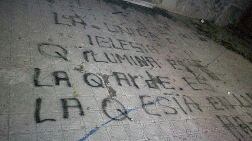 Realizan sexto ataque a iglesia en Melipilla previo a llegada del Papa