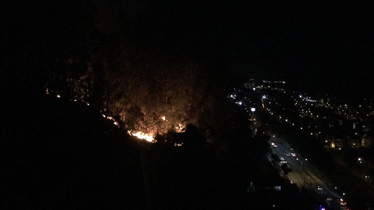 incendio cerro caracol