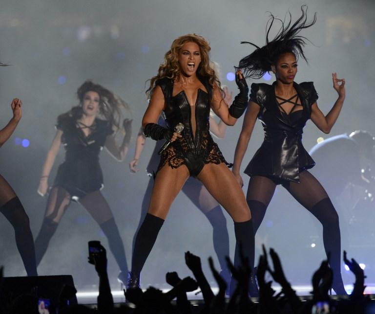 Beyoncé en Super Bowl 2013 |Timothy A. Clary | AFP
