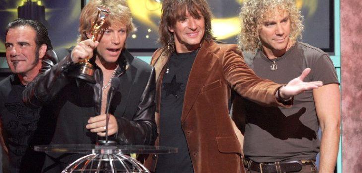 Tico Torres, Jon Bon Jovi, Richie Sambora y David Bryan   Agencia AFP