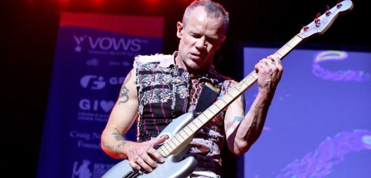 Flea | Agencia AFP | Bob Woodruff Foundation