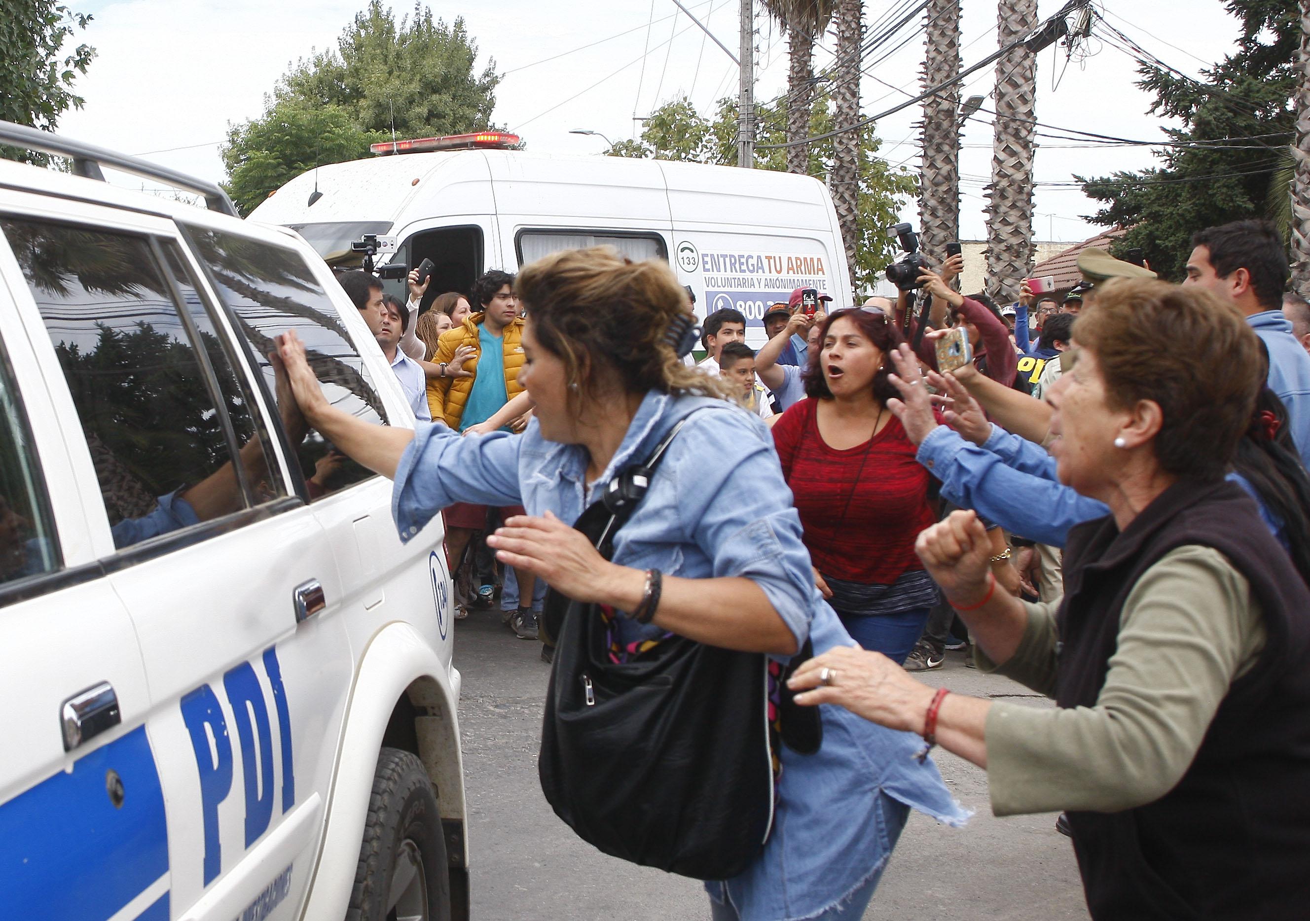 CURICO:Jose Navarro es trasladado al tribunal de garantia de Licanten