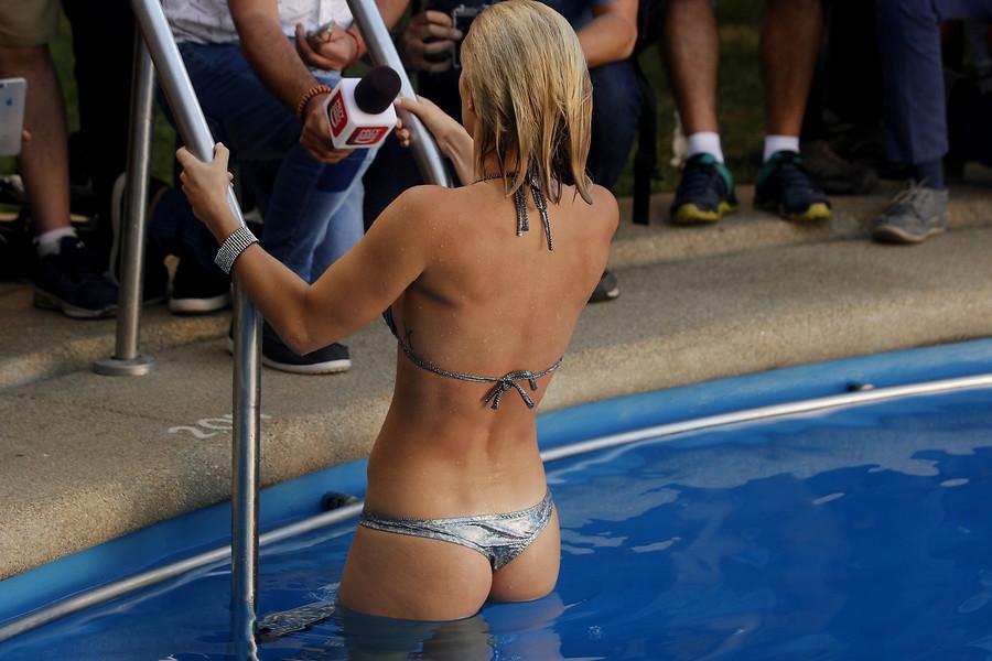 Nuevo piscinazo | Cristian Opazo | Agencia Uno