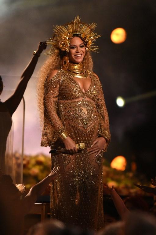 Beyoncé en premios Grammy 2017    Kevork Djansezian   Getty Images for Naras   AFP