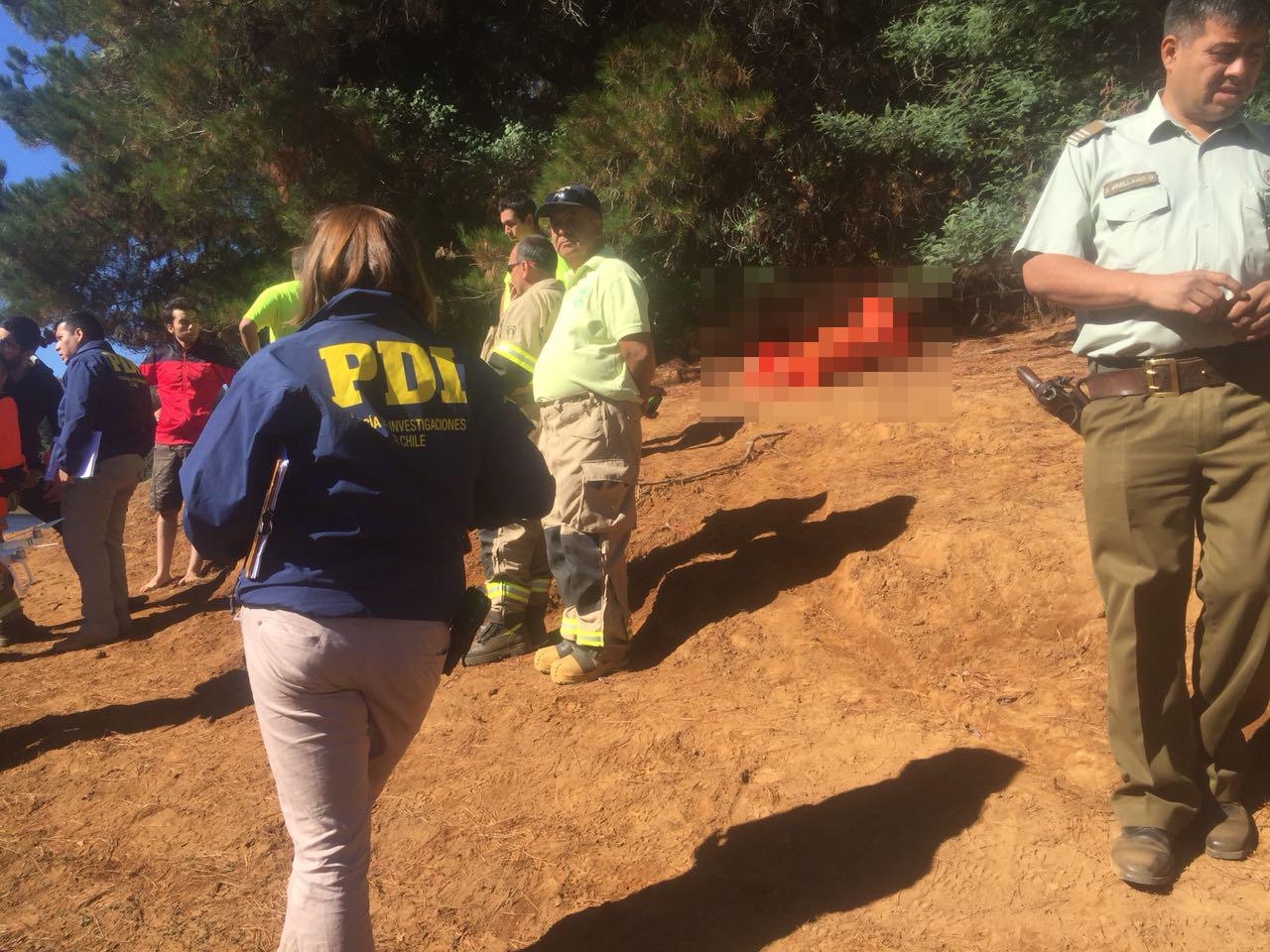 Joven scout fue encontrado muerto en el embalse de Coihueco