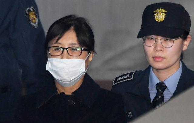 "Choi Soon-sil, la ""Rasputina"", amiga de Geun-Hye. Yonhap | South Korea OUT | Agence Franc-Presse"