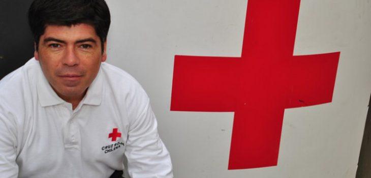 Patricio Acosta, presidente de la Cruz Roja Chilena. Fuente: Cruz Roja Chilena.