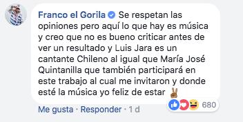 Franco El Gorila | Facebook