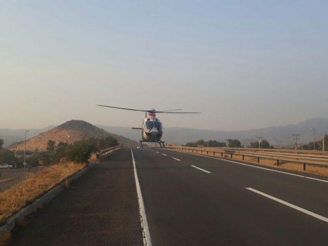 helicoptero-en-la-ruta