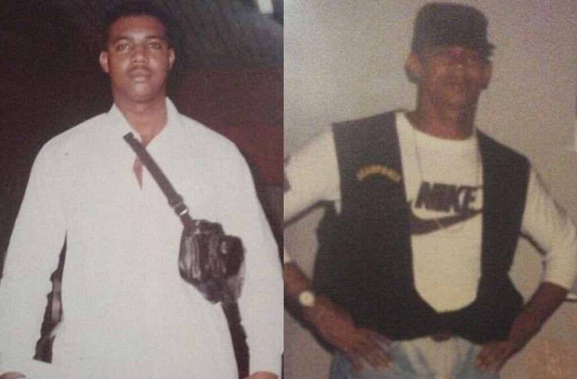 Álvaro Pereira y Tony Geraldo en su juventud | Daily Mail