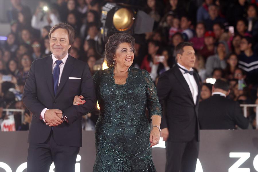 Jorge Carey (izquierda) y Virginia Reginato (derecha) | Cristián Opazo | Agencia UNO
