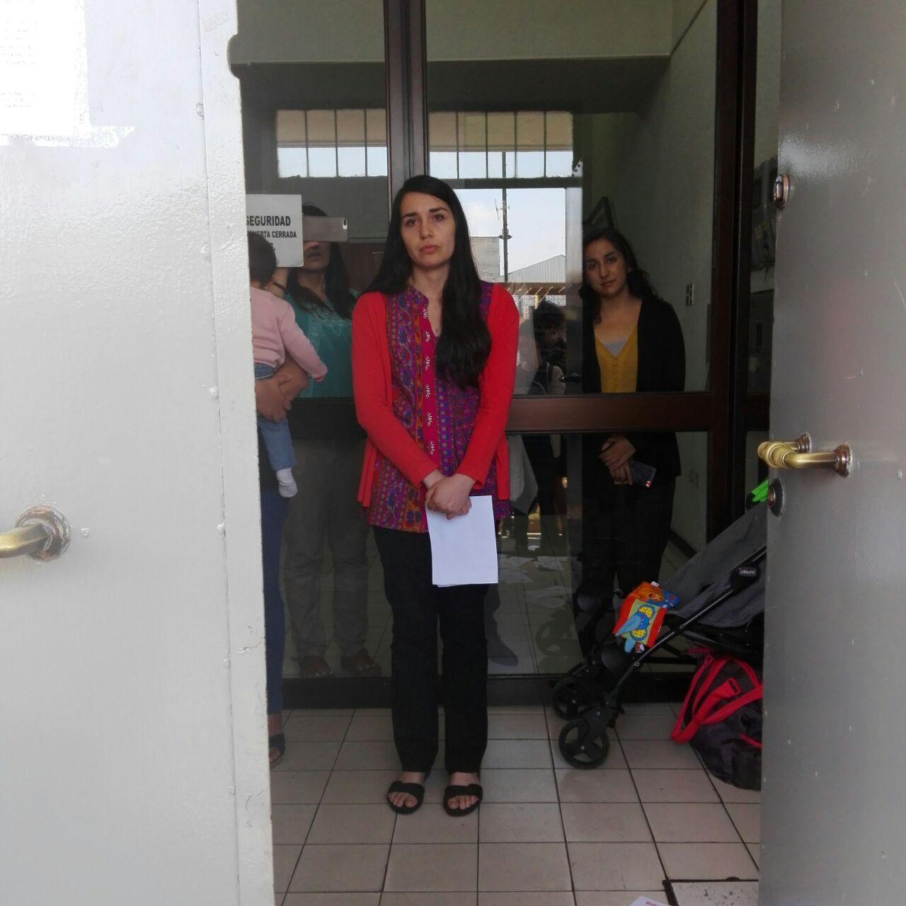 Organizaciones acuden a iglesia evangélica |  Andrea Herrera (c), cedida a BioBioChile