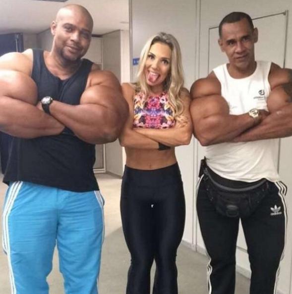 Álvaro 'Conan' Pereira y Tony 'Hulk' Geraldo | Instagram