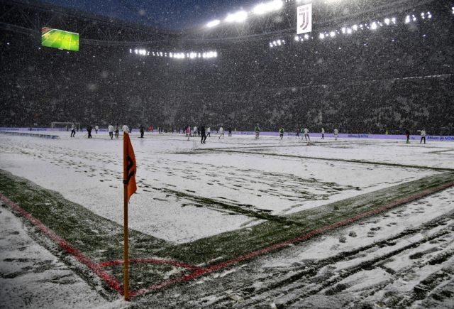 Estadio Allianz de Turín tras la cancelación de un partido entre la Juventus y Atalanta. Alberto Pizzoli | Agence France-Presse