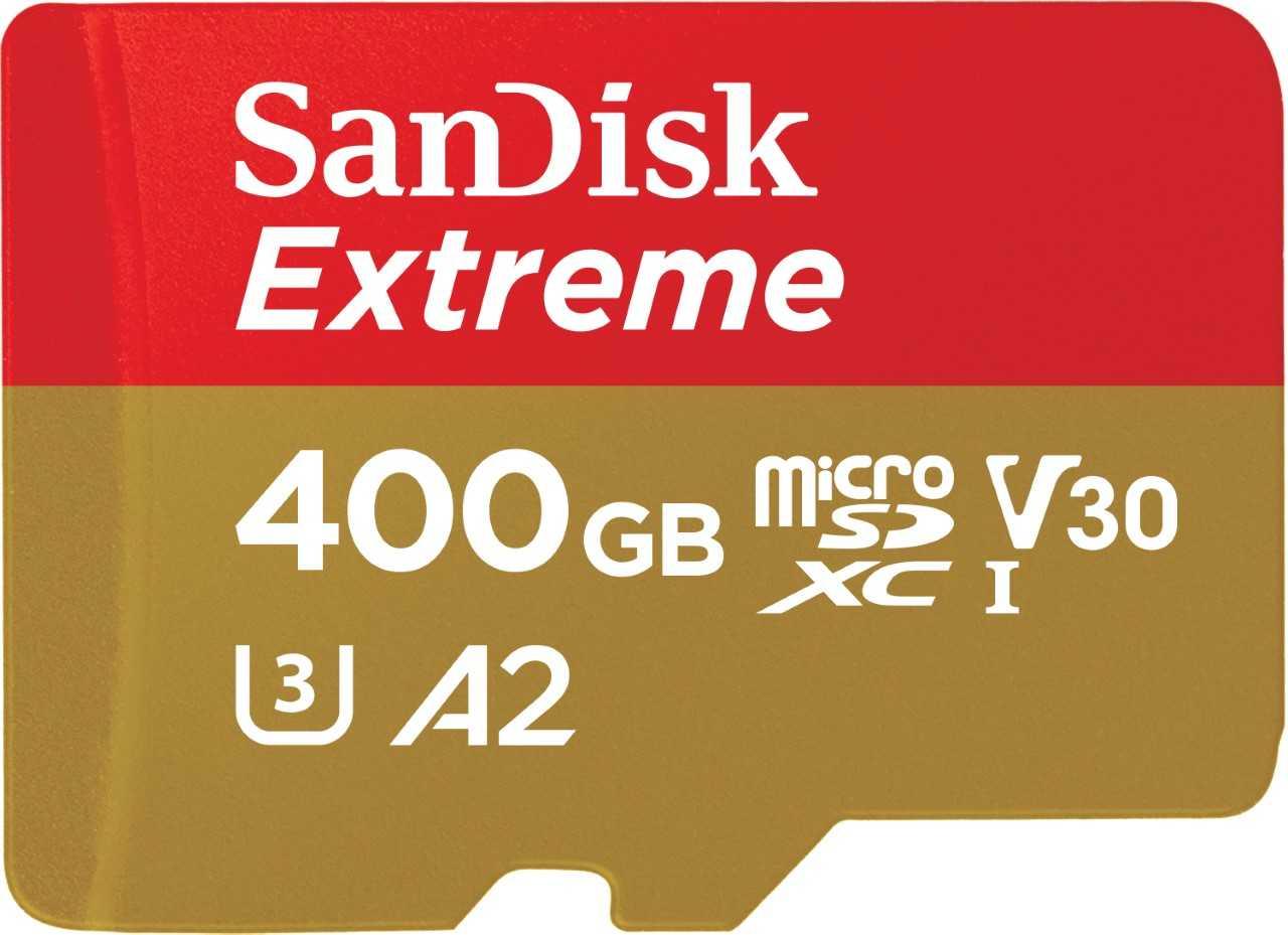 SanDisk Extreme UHS-I microSDXC