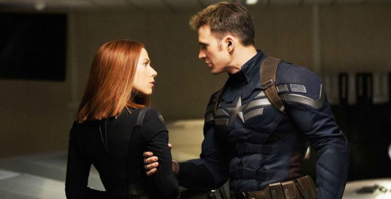 Viuda Negra y Capitán América | Marvel