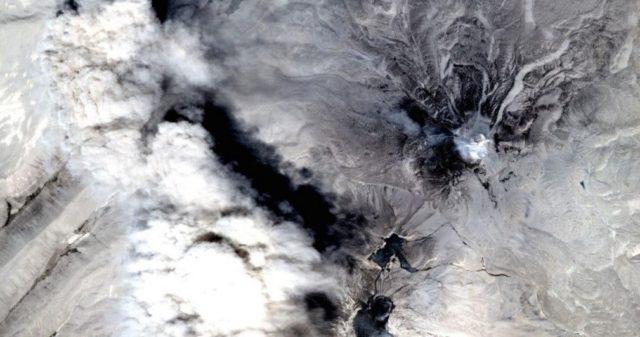Volcán activo en Arequipa | Perú Sat