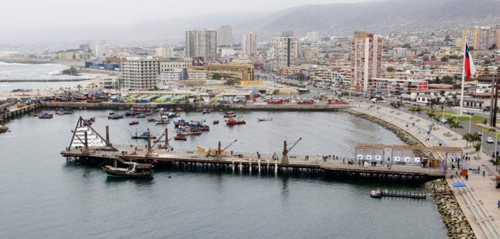 Muelle Histórico de Antofagasta   Cedida
