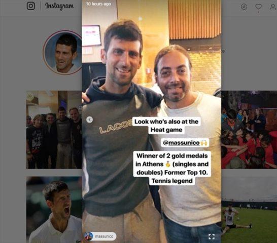 Novak Djokovic I Instagram