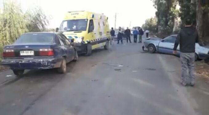 Panorámica del sitio del accidente.
