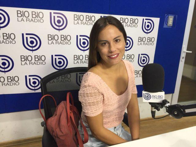 Antonia Santa María en Radio Bío Bío.