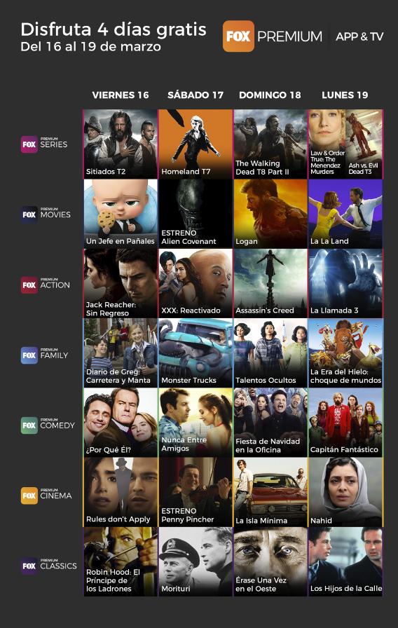 Calendario de estrenos de FOX | FOX