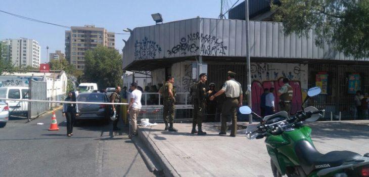 Dos personas heridas y cinco detenidos deja asalto frustrado a Servipag de San Miguel