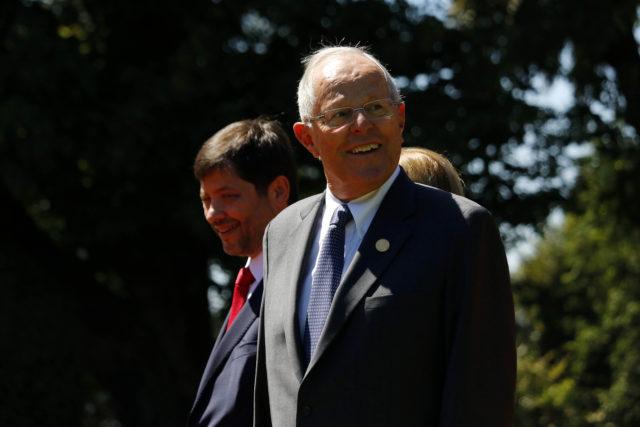 Kuczynski llega al Palacio del Cerro Castillo para compartir un almuerzo con el presidente Piñera tras el cambio de mando. Leonardo Rubilar | Agencia UNO