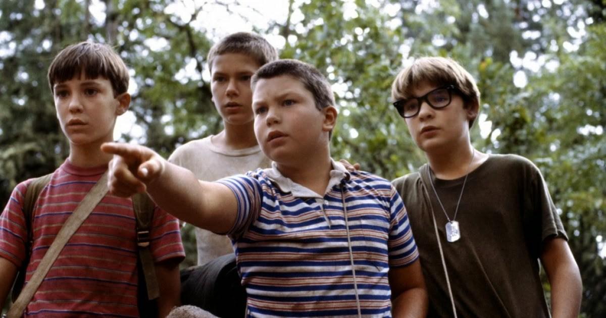Corey Feldman (a la derecha) en 'Cuenta Conmigo' (1986)