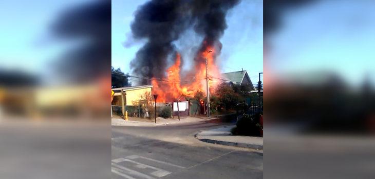 Captura Video Emergencias V Región