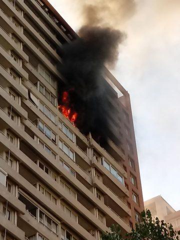 incendio-en-edificio-de-nunoa