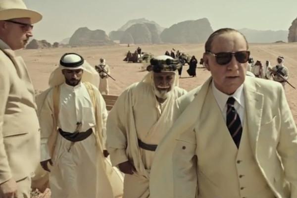 """Kevin Spacey en """"Todo el dinero del mundo""""."""