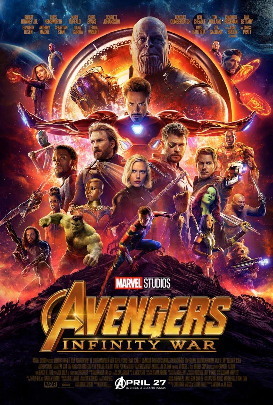 Los Vengadores: la guerra del infinito