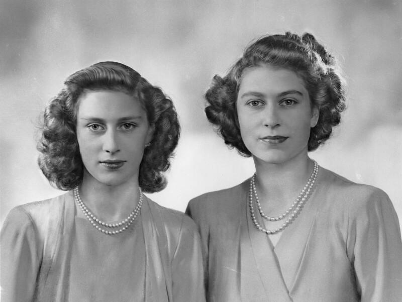 Princesas Isabel y Margarita | Buckingham Palace