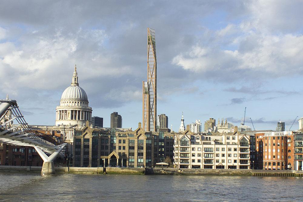 Oakwood Tower que se podría construir en Londres | www.plparchitecture.com