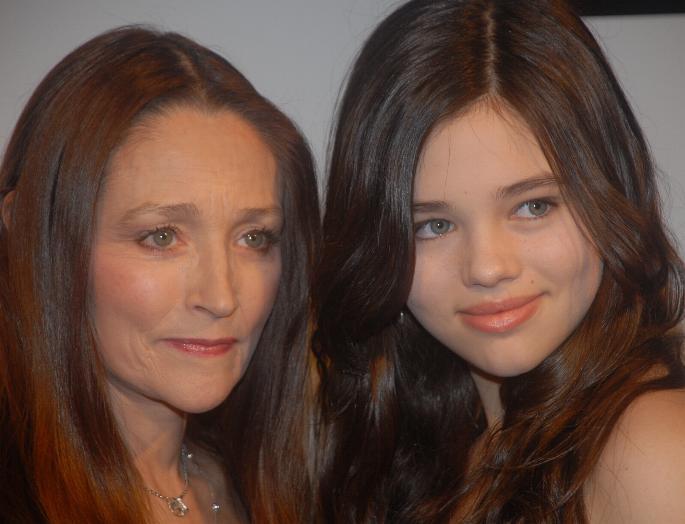 Olivia Hussey y su hija
