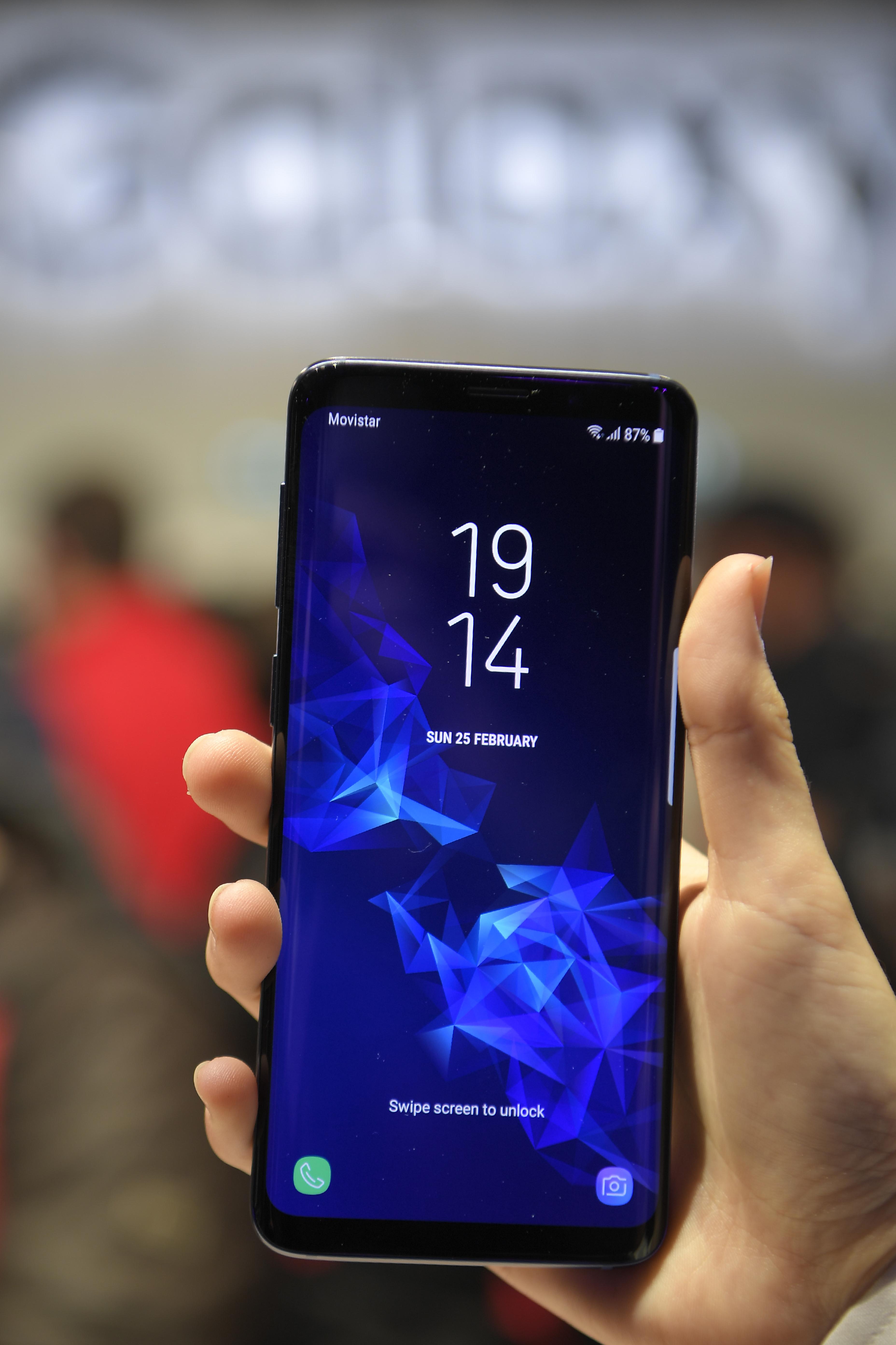 Samsung Galaxy S9 | Lluis Gene | Agence France-Presse |