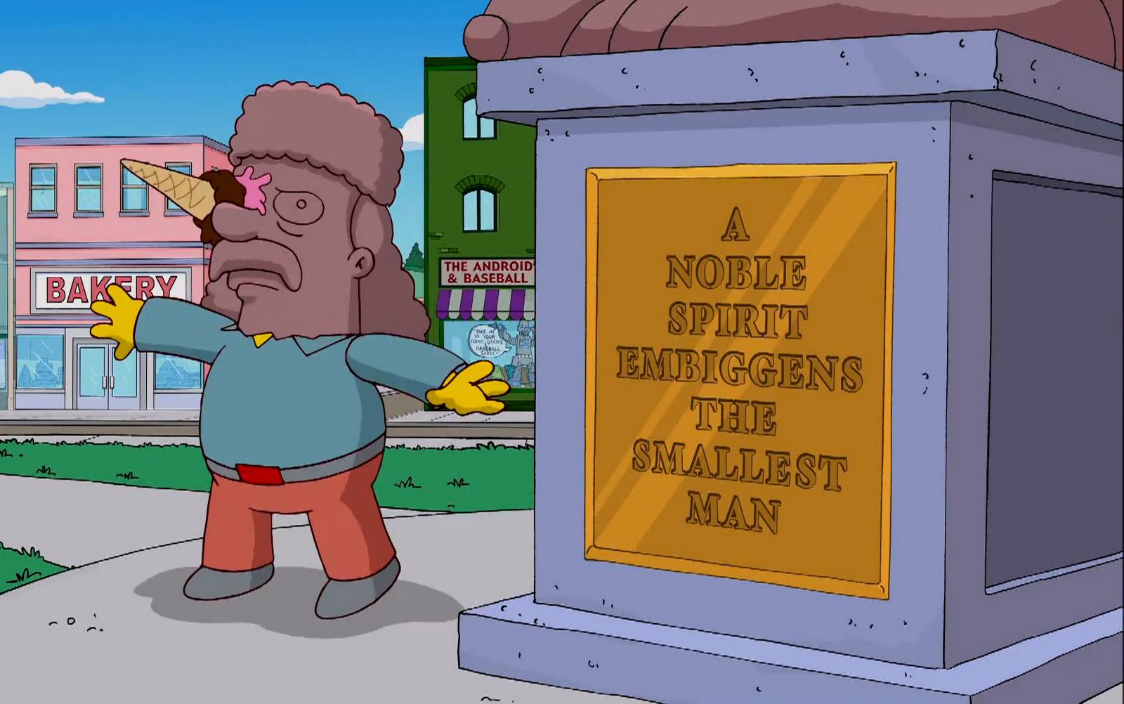 Una palabra creada en la serie Los Simpson llegó al diccionario